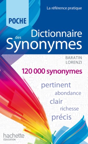 9782012814998: Dictionnaire des synonymes (French Edition)