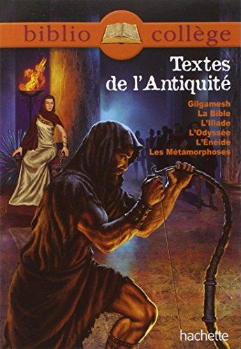 9782012815087: bibliocollege - textes de l'antiquite