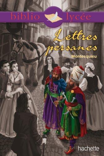 9782012815155: Lettres persanes