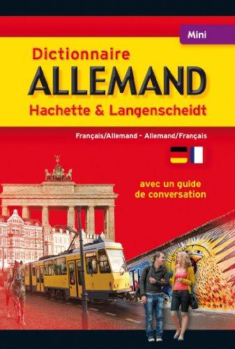 9782012815223: Mini Dictionnaire Hachette Langensheidt - Bilingue Allemand (Dictionnaires bilingues)