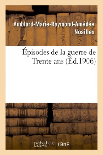 9782012884328: Épisodes de la guerre de Trente ans