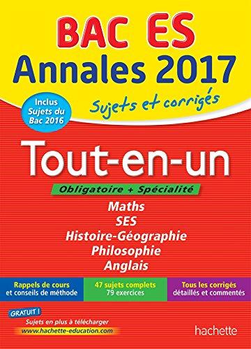 Annales Bac 2017 Tout-en-un Term ES: Joëlle Bicz Grassionot;