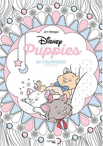 Coloriage Anti Stress Application.9782012904118 Disney Puppies 60 Coloriages Anti Stress