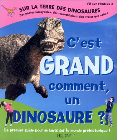 9782012919204: Sur la Terre des dinosaures : C'est grand comment un dinosaure ?