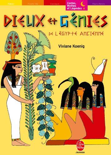 9782013211031: Dieux et génies de l'Egypte ancienne