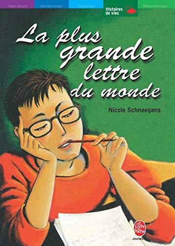 9782013218795: La Plus Grande Lettre Du Monde (French Edition)