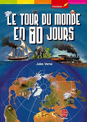 9782013221122: Le tour du monde en 80 jours (Le Livre de Poche Jeunesse)