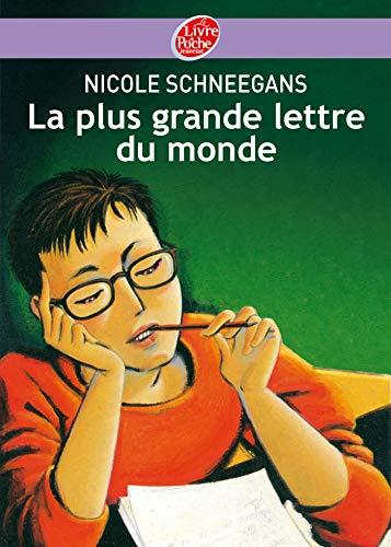 9782013224307: La plus grande lettre du monde (French Edition)