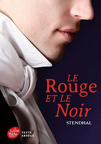 9782013232838: Le rouge et le noir - Texte Abrégé (Livre de Poche Jeunesse)