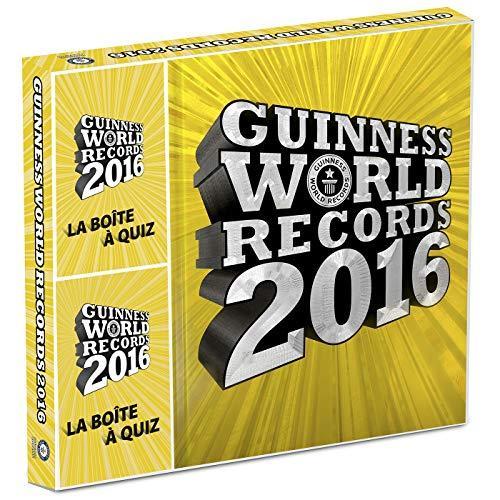 9782013236751: Coffret Guinness World Records 2016