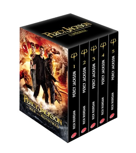 9782013237949: Coffret Percy Jackson