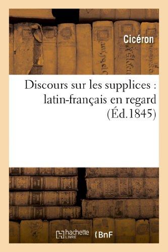 9782013266666: Discours sur les supplices : latin-fran�ais en regard