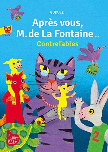9782013285131: Après vous, M. de La Fontaine - collection cadet