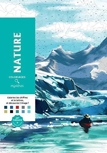9782013350648: Coloriages mystères Nature: 100 coloriages mystères inédits (Art thérapie)