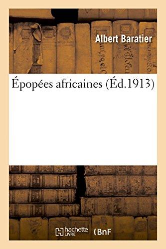 9782013420587: Épopées africaines (Litterature) (French Edition)