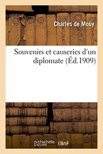 9782013445757: Souvenirs et causeries d'un diplomate (French Edition)