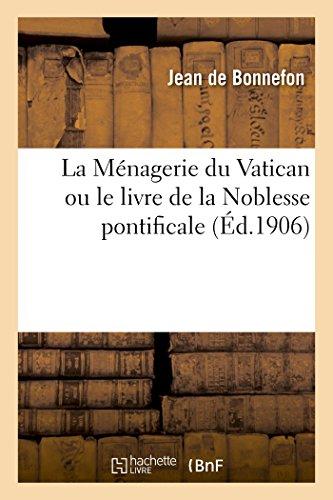 9782013494786: La Ménagerie du Vatican (Histoire) (French Edition)