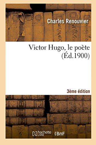 9782013523493: Victor Hugo, le po�te (3e �d.)