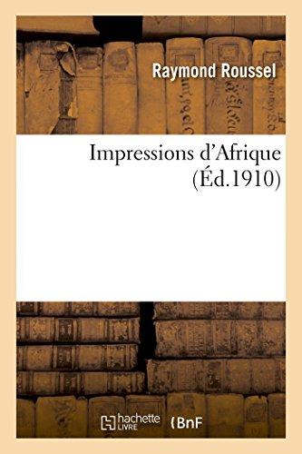 9782013525749: Impressions d'Afrique (Littérature)