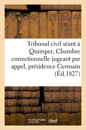 Sant germain abebooks for Chambre correctionnelle