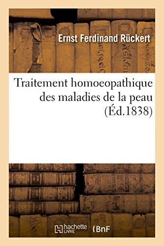 9782013535076: Traitement Homoeopathique Des Maladies de La Peau (Sciences) (French Edition)