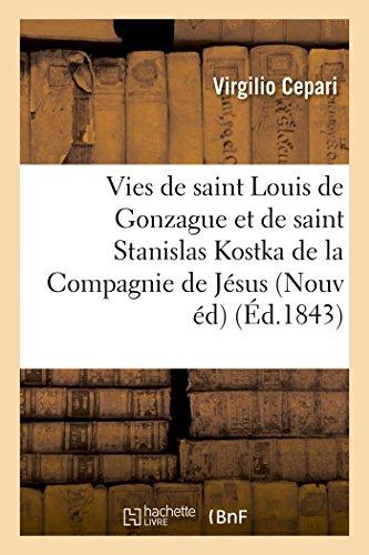 Vies de Saint Louis de Gonzague Et: Cepari-V