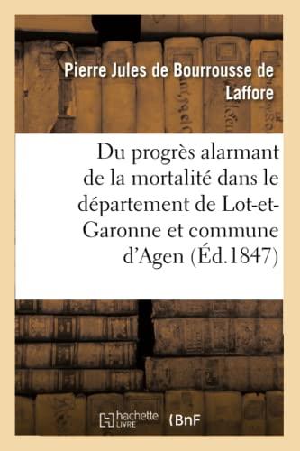 Du Progres Alarmant de la Mortalite Dans: De Bourrousse De