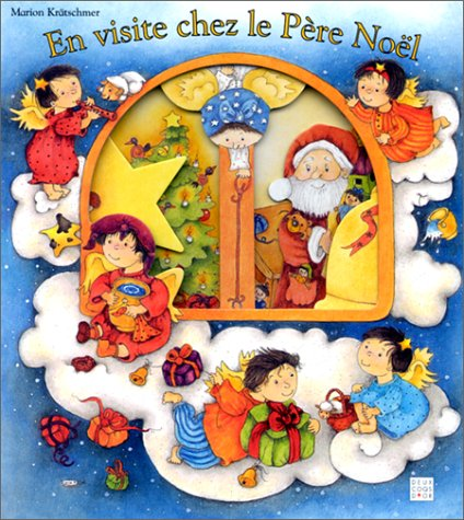 9782013924597: En visite chez le père Noël
