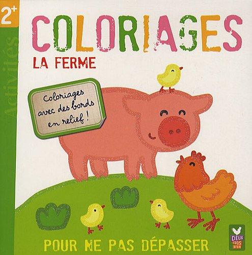 9782013932127: Coloriages La ferme (French Edition)