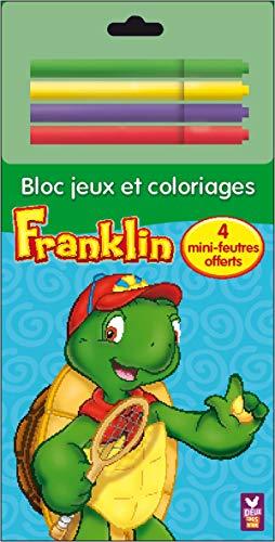 Franklin: Bloc jeux et coloriages (9782013932509) by Paulette Bourgeois