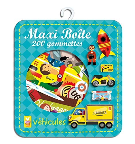 9782013935449: Maxi boîte : Véhicules (French Edition)