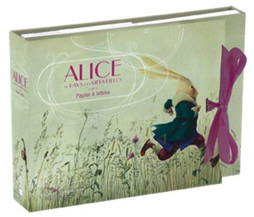 9782013936156: Papier à lettres - Alice aux pays des merveilles