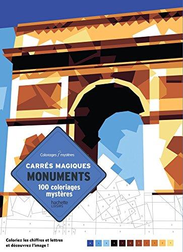 9782013945820: 100 coloriages mystères en carrés magiques: Monuments du monde