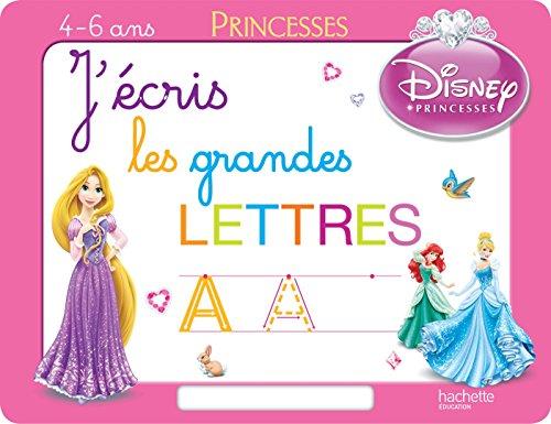 9782013950558: J'�cris les grandes lettres avec les Princesses - Ardoise
