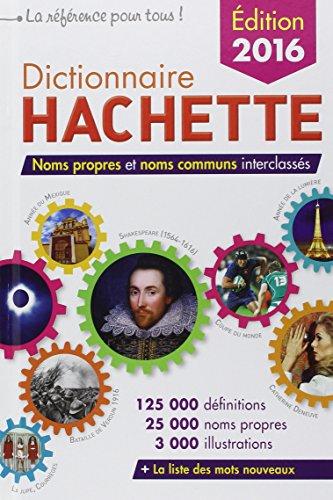 9782013951012: Dictionnaire hachette 2016 export