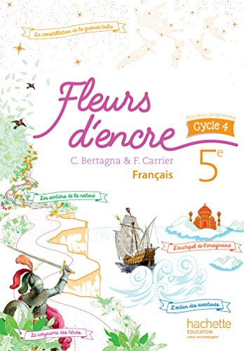 9782013953115: Fleurs d'encre français cycle 4 / 5e - Livre élève - éd. 2016