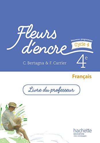 9782013953276 Francais 4e Fleurs D Encre Livre Du