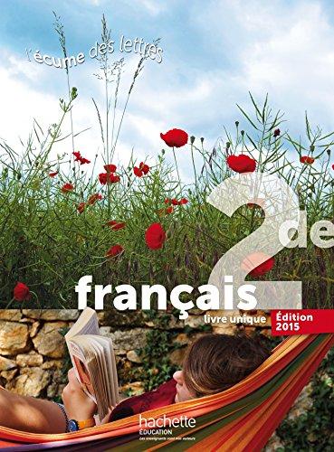 9782013954006 L Ecume Des Lettres 2nde Livre De L Eleve