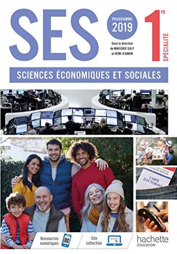 9782013954327: SES 1ère - Livre élève - Ed. 2019