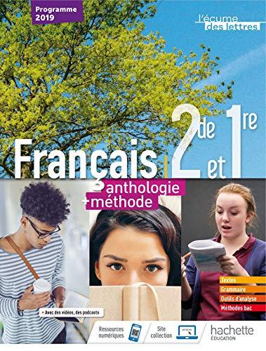 9782013954389: L'écume des lettres 2nde/1ère anthologie + méthodes - Livre élève - Ed. 2019