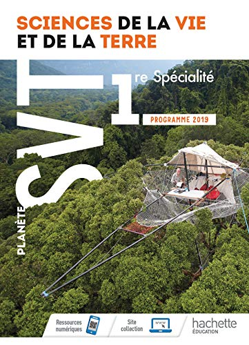 9782013954921: Planète SVT 1ère - Livre élève - Ed. 2019
