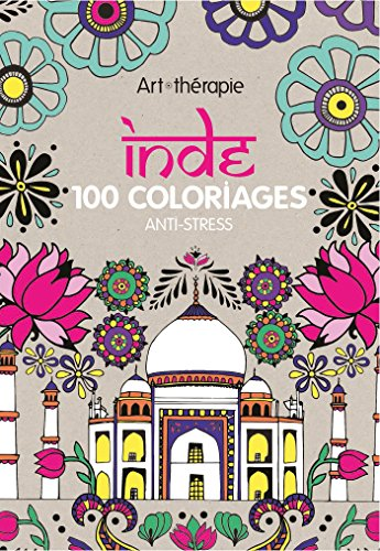 9782013968935: Inde: 100 coloriages anti - stress - art therapie (French Edition)