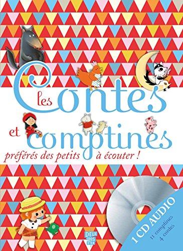 9782013979733: Les contes et comptines préférés des petits avec 1 CD audio