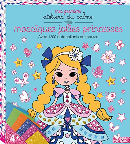 9782013980449: Pochette tableaux mosaiques mousse - Mosaïques jolies princesses