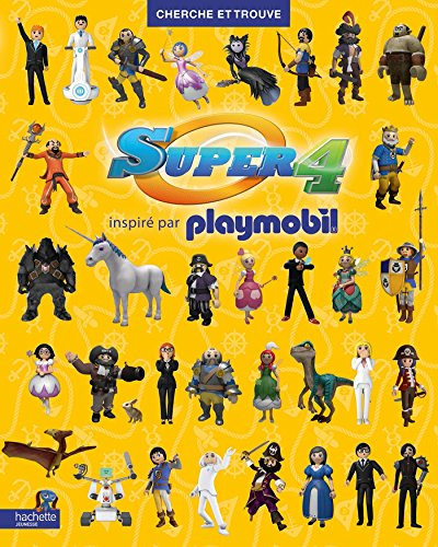 9782013991223: Playmobil Super 4 : Cherche et trouve