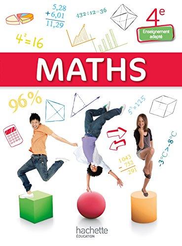 9782013997058: Mathématiques 4e Enseignement adapté - Livre élève consommable - Ed. 2015