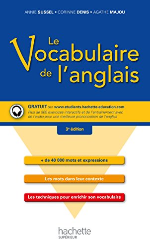 9782014004625: Le vocabulaire de l'anglais