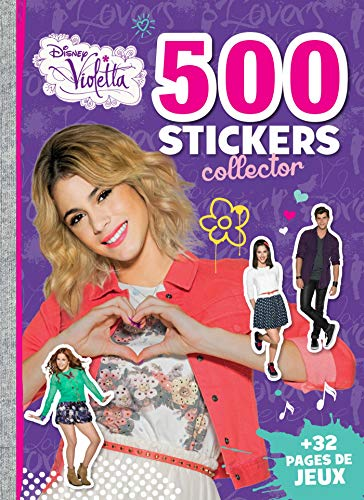 9782014007442: 500 stickers collectors Violetta : + 32 pages de jeux
