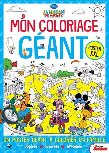 9782014007480: Mon coloriage géant La maison de Mickey : Poster XXL