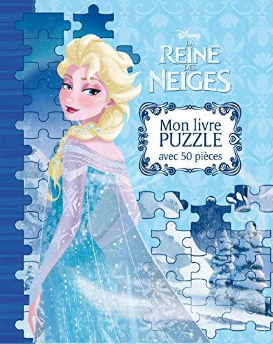 9782014010503: La Reine des Neiges : mon livre puzzle avec 50 pièces
